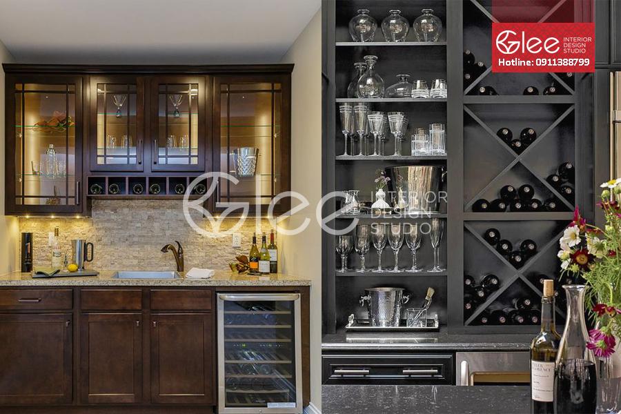 Tủ rượu gỗ thịt GTR08