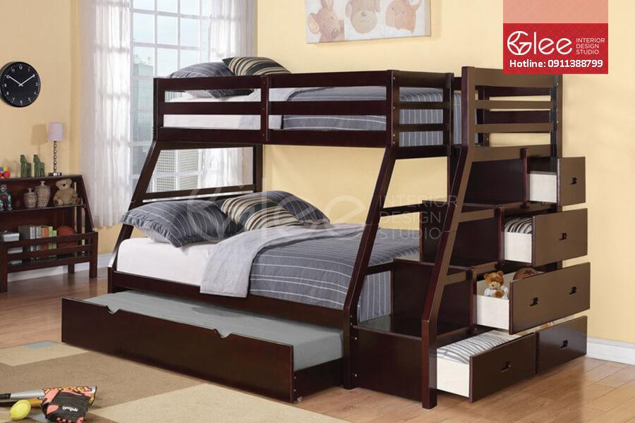 Kinh nghiệm hay khi thiết kế giường tầng cho bé