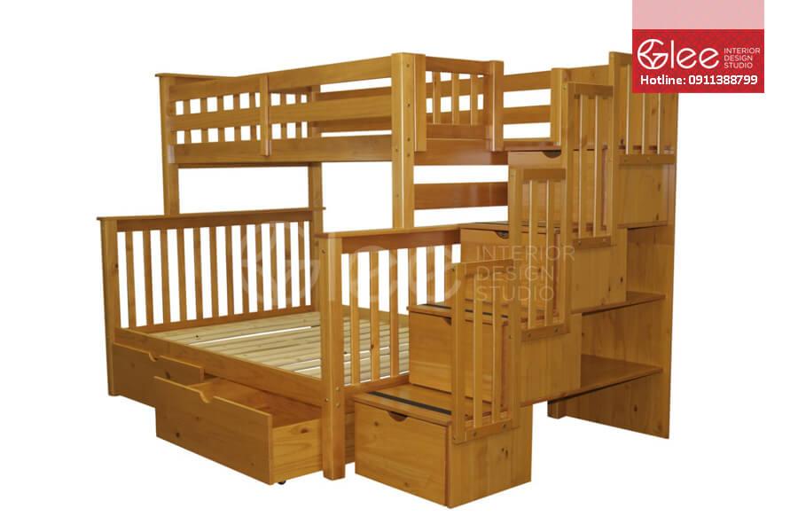 Chọn chất liệu đẹp cho giường tầng