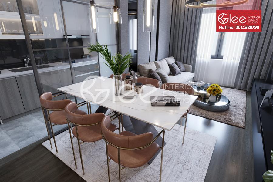 Thiết kế nội thất chung cư giá rẻ, chất lượng